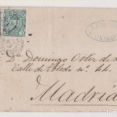 Sellos: ENVUELTA. LINARES, JAÉN. 1875. IMPUESTO DE GUERRA. Lote 267499604