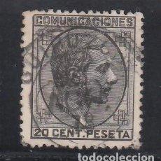 Timbres: ESPAÑA, 1878 EDIFIL Nº 193, 20 C NEGRO.. Lote 267502269