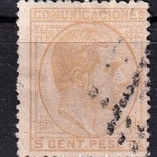 Francobolli: SELLOS ESPAÑA OFERTA AÑO 1878 EDIFIL 191 EN USADO VALOR DE CATALOGO 88 €. Lote 272609048