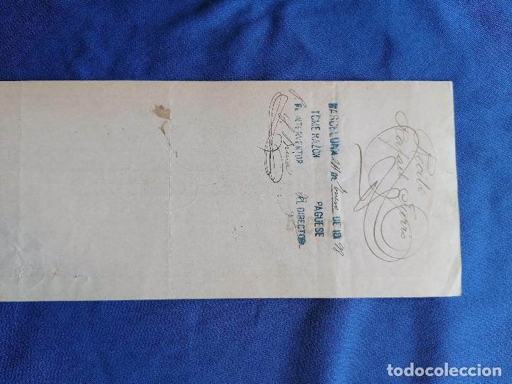 Sellos: España sellos Pagare año 1897 sello Edifil 232 sello nuevo BANCO ESPAÑA Barcelona - Foto 3 - 274022788