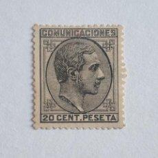 Francobolli: SELLO AÑO 1878 ALFONSO XII, 20 CENTIMOS EDIFIL Nº 193 NUEVO. Lote 276071678