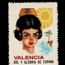 Sellos: 0412 PUBLICIDAD - VALENCIA, SOL Y ALEGRIA DE ESPAÑA. Lote 276706153