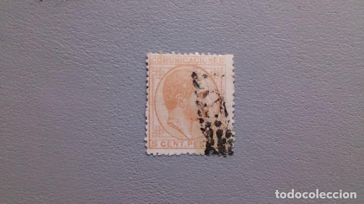 ESPAÑA - 1878 - ALFONSO XII - EDIFIL 191. (Sellos - España - Alfonso XII de 1.875 a 1.885 - Usados)