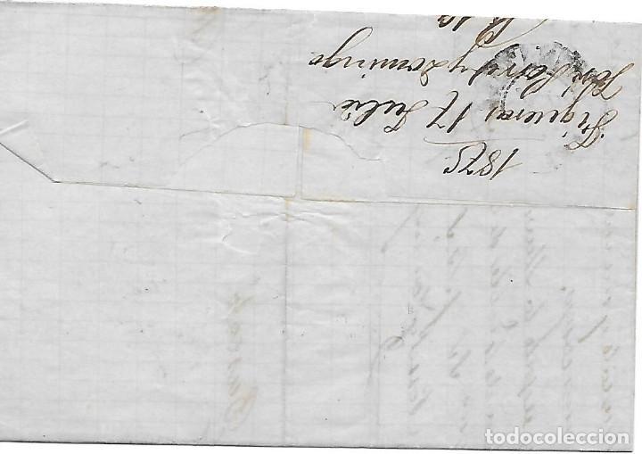 Sellos: EDIFIL 154-155 SERIE COMPLETA DE IMPUESTO DE GUERRA. ENVUELTA DE FIGUERAS A BARCELONA 1875 - Foto 2 - 286305703