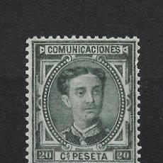 Selos: ESPAÑA 1876 EDIFIL 176 ** MNH - 18/2. Lote 286344038