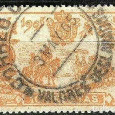 Sellos: ESPAÑA 1905 QUIJOTE EDIFIL 266 USADO MATASELLOS CENTRADO PRECIOSO. Lote 287784173