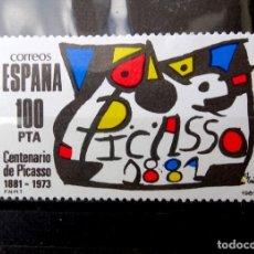 Sellos: SELLOS ESPAÑA 1981 - FOTO 2426 - Nº 2609, NUEVO. Lote 289312213