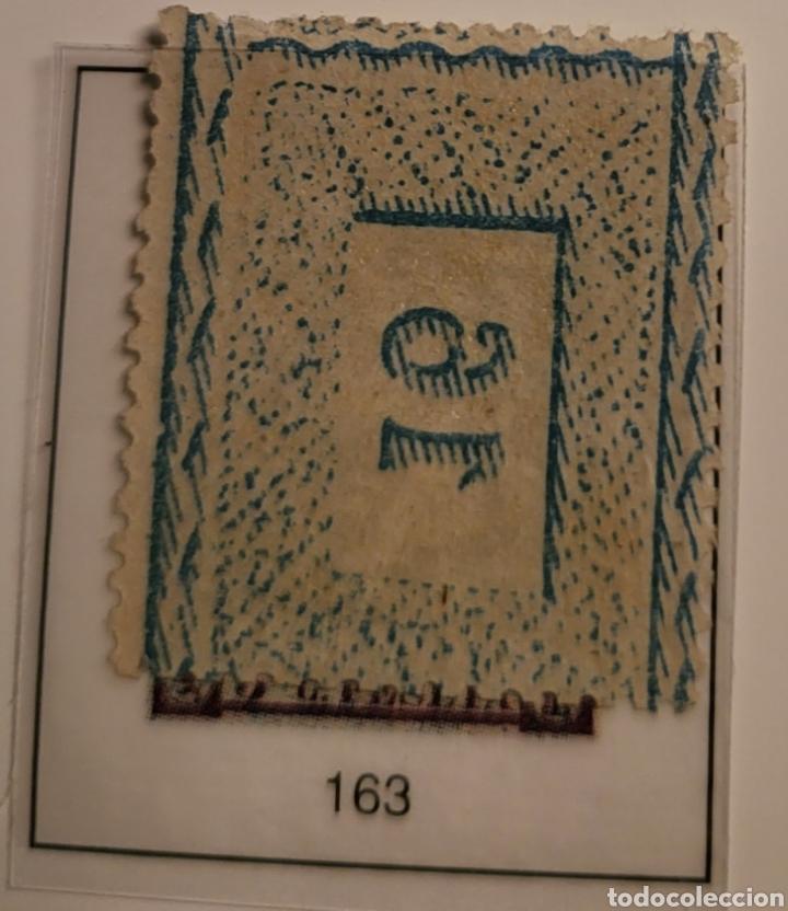 Sellos: Sello de España 1875 Alfonso XII 5 cent. de peseta Edifil 163 Nuevo - Foto 2 - 289639493