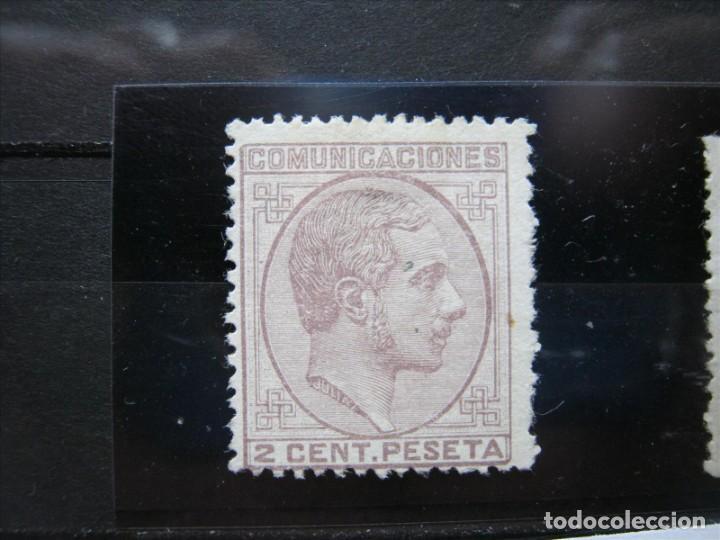ALFONSO XII EDIFIL 190 MH CHARNELA* PERFECTO!!! (Sellos - España - Alfonso XII de 1.875 a 1.885 - Nuevos)