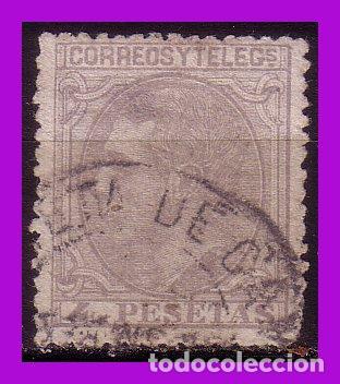 1879 ALFONSO XII, EDIFIL Nº 208 (O) (Sellos - España - Alfonso XII de 1.875 a 1.885 - Usados)