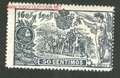 EDIFIL N.º 263 NUEVO (Sellos - España - Alfonso XIII de 1.886 a 1.931 - Usados)