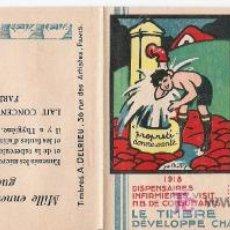 Sellos: PRO TUBERCULOSOS RARISIMO CARNET CON 20 VIÑETAS DE PROPAGANDA DE 1928 . Lote 26895931