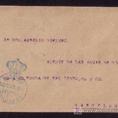 Sellos: ESPAÑA.1904.SOBRE DE MADRID A BARCELONA.MARCA DE FRANQUICIA *CORREOS ESTAFETA DEL CONGRESO* AZUL.R.. Lote 24246190