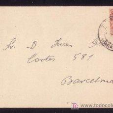 Sellos: ESPAÑA.(CAT. 269). 1914. CARTÓN CIRCULADO COMO TARJETA POSTAL DE TORTOSA (TARRAGONA). RARA.. Lote 25806966