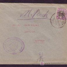 Sellos: ESPAÑA. (CAT. B8). 1929. SOBRE DE TARRAGONA A IGUALADA. BENÉFICO. MARCA CORREOS. LLEGADA. BONITA.. Lote 25499435