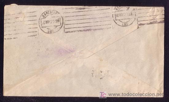 Sellos: DORSO DE LA CARTA - Foto 2 - 27597565