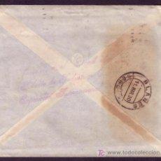 Sellos: ESPAÑA. (CAT.317A,AYTO.3). 1930.SOBRE DE BARCELONA A BLANES. DORSO MARCA EXPOSICIÓN INTERNACIONAL.... Lote 25448525