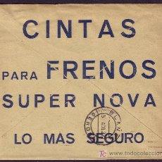 Sellos: ESPAÑA. (CAT. 317A). 1927. SOBRE DE PUBLICIDAD AUTOMÓVIL DE BARCELONA. MAGNÍFICO Y RARO.. Lote 27573265