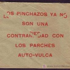 Sellos: ESPAÑA. (CAT. 310). 1929. SOBRE PUBLICIDAD AUTOMÓVILES DE BARCELONA. 2 CTS. VAQUER. IMPRESOS. RARO.. Lote 25122821