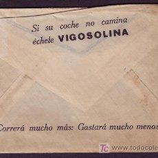 Sellos: ESPAÑA. (CAT. 310A). 1926. SOBRE PUBLICIDAD AUTOMÓVILES DE MADRID. 2 CTS. IMPRESOS. RARO.. Lote 23157860