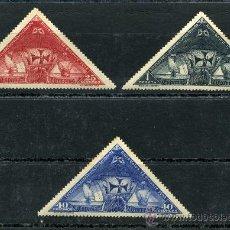 Sellos: COLÓN EDIFIL 539 541 Y 543 , CON CHARNELA, ALGO DE ÓXIDO. Lote 8494932