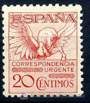 592A* - PEGASO 1931 (NUEVO CON CHARNELA) (Sellos - España - Alfonso XIII de 1.886 a 1.931 - Usados)