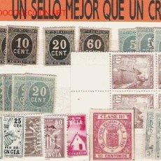 Sellos: GRAN LOTE DE PRIMER CENTENARIO . Lote 8372753