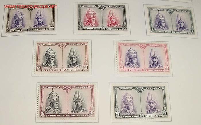 Sellos: 1928 - PRO EXCAVACIONES DE LAS CATACUMBAS DE SAN DAMASO EN ROMA - COMPLETA - SELLOS NUEVOS CON CHARN - Foto 6 - 26329221