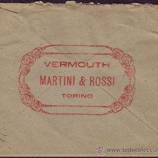 Sellos: ESPAÑA. (CAT. 271).1919. SOBRE PUBLICIDAD * MARTINI & ROSSI * DE BARCELONA. 15 CTS. MAGNÍFICO. RARO.. Lote 24517419