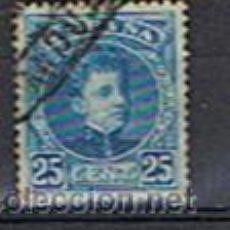 Sellos: EDIF. 248**ALFONSO XIII, 25 C., AZUL **1901-05**USADO**. Lote 12363864