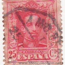 Sellos: SELLO 1922 - ALFONSO XIII - 25 CÉNTIMOS - USADO. Lote 17494749