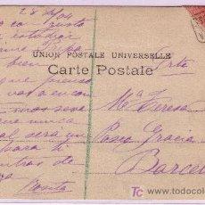 Sellos: TARJETA POSTAL ILUSTRADA DE CAPELLADE A BARCELONA, FRANQUEADA CON EL SELLO 243, MATASELLO CARTERIA.. Lote 13886160
