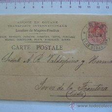 Sellos: CARTA POSTAL 1913 CON EDIFIL 269. Lote 26099303