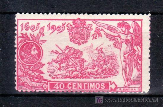 ESPAÑA 262 CON CHARNELA, (Sellos - España - Alfonso XIII de 1.886 a 1.931 - Usados)