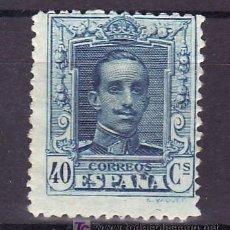 Sellos: ESPAÑA 319 CON CHARNELA, ALFONSO XIII TIPO VAQUER. Lote 15792292