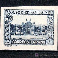 Sellos: ESPAÑA 576S SIN DENTAR SIN GOMA, PABELLON DE MEXICO, PRO UNION IBEROAMERICANA. Lote 26263880