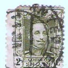 Sellos: ALFONSO XIII 1922 AL 1930 - 2 C. VERDE OLIVA . Lote 22200254