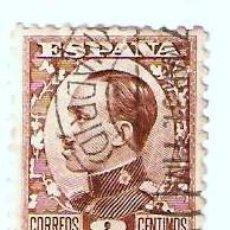 Sellos: ALFONSO XIII 1930 AL 1931 USADO 2C. CASTAÑO. Lote 22564781