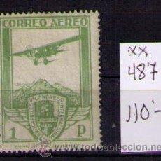 Sellos: ESPAÑA 1930 - CONGRESO INTERNACIONAL DE FERROCARRILES - EDIFIL Nº 487 - NUEVO . Lote 23423237