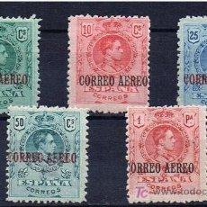 Sellos: ALFONSO XIII CORREO AEREO ED 292-3-4-5-6 * SERIE COMPLETA. Lote 23599648