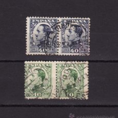 Sellos: 1930 1931 ALFONSO XIII DIPTICOS. Lote 22983557