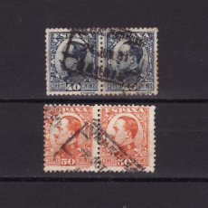 Sellos: 1930 1931 ALFONSO XIII DIPTICOS. Lote 27430318