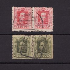 Sellos: 1922 1930 ALFONSO XIII DIPTICOS. Lote 22983700