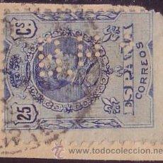 Sellos: ESPAÑA. PERFORACIÓN * B.H.A. * (CAT. 54) MADRID. VARIEDAD PERFORACIÓN INCOMPLETA. RARO.. Lote 26925565