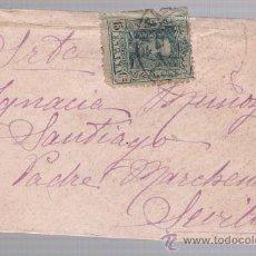 Sellos: CARTA DE GALAROSA A SEVILLA. DE 1925. FRANQUEADO CON SELLO 315.. Lote 26687058