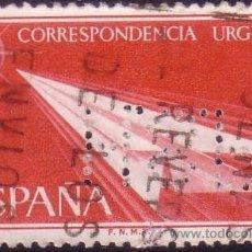 Sellos: ESPAÑA. (CAT.1185). 2 PTAS. URGENTE. PERFORACIÓN COMERCIAL * H.S.R. * (CAT. 14). RARO EN ESTE SELLO.. Lote 26728193