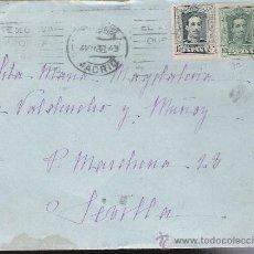 Sellos: CARTA DE MADRID A SEVILLA. DE 4 NOVIEMBRE 1930. FRANQUEADO CON SELLOS 314 Y 315. . Lote 26751562