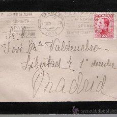 Sellos: CARTA DE SEVILLA A MADRID. DE 13 NOVIEMBRE 1930. FRANQUEADO CON SELLO 495.. Lote 27381271