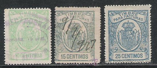3436-SELLOS FISCALES REY ALFONSO XIII AÑO 1920.SPAIN REVENUE (Sellos - España - Alfonso XIII de 1.886 a 1.931 - Usados)