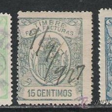 Sellos: 3436-SELLOS FISCALES REY ALFONSO XIII AÑO 1920.SPAIN REVENUE. Lote 29657091